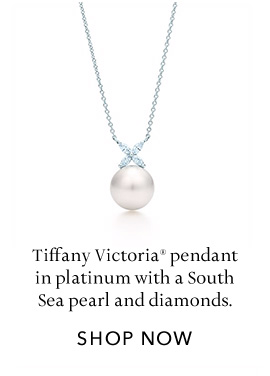 Platinum with Diamonds Victoria Pendant